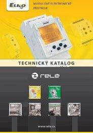 Modulové elektronické přístroje - ELKO EP, sro
