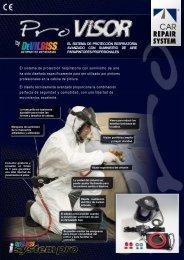 Sistema de protección respiratoria avanzado - El Chapista