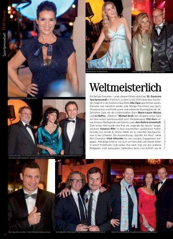 Sportpresseball 2011 - TOP Magazin Frankfurt