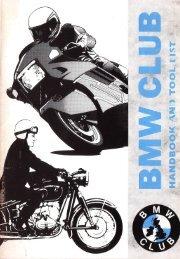 BMW Club Handbook 1994-1995 Incl. Journal Index 1976-1993