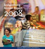 Årsberetning - Annual Report 2008 - Aarhus Kommunes Biblioteker