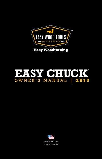 oWNER'S MANUAL 2013 - Easy Wood Tools