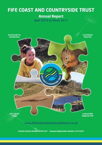 Annual Report 2010 to 2011 - Fife Coast & Countryside Trust