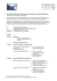 Programm - Bildungsbuero Koeln eV