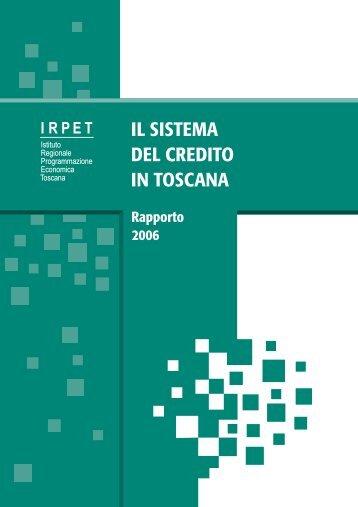 Rapporto - Irpet