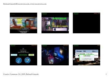 Microsoft PowerPoint - gatarski_sm-update_2009 ... - Richard Gatarski