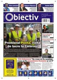 Premierul , vizită de lucru la Călăraºi Ponta Premierul ... - Obiectiv