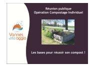 les bases pour réussir son compost - Vannes Agglo