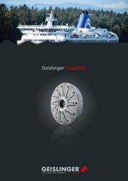 Coupling catalog - Geislinger