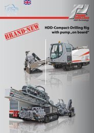 """HDD-Compact-Drilling Rig with pump """"on board"""" - Prime Drilling ..."""