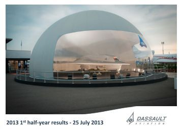Slides of the conference (.pdf) - Dassault Aviation