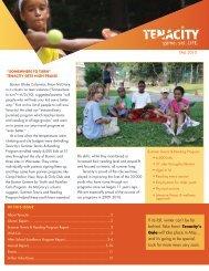 2010 fall newsletter - Tenacity