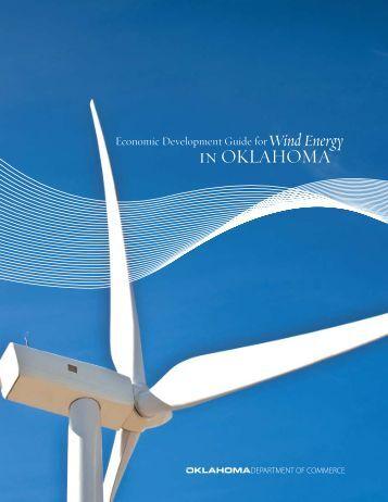 Economic Development Guide for Wind Energy in Oklahoma