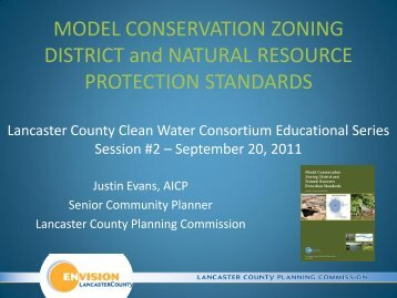 Model Conservation Zoning District and Natural Resource ...