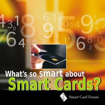 What's so smart about Smart Cards? - Gemalto