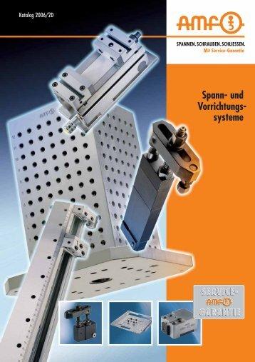 Spann- und Vorrichtungs- systeme - Andreas Maier GmbH & Co.