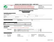 service unit reservation form - Girl Scouts of Greater Mississippi