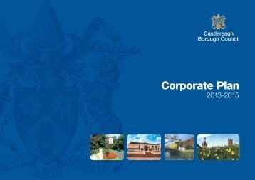Castlereagh Borough Council Corporate Plan 2013-2015