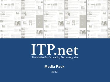 Media Pack - ITP.net