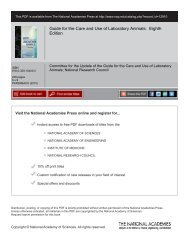 Guide for the Care and Use of Laboratory Animals - Waisman ...