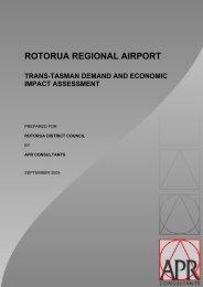 Trans-Tasman Demand and Economic Impact Assessment