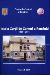 istoriaCCR - Curtea de Conturi