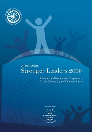 Find out more about the Stronger Leaders Programme - The Wheel