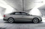 The new Audi A6 Saloon Pricing and Specification Guide
