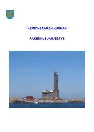 Liite 3-Rakennusjärjestys 2009