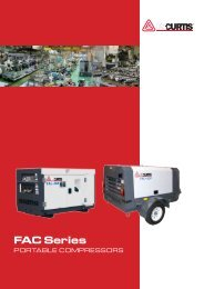 FAC Series - Compressor & air tool repair Australia