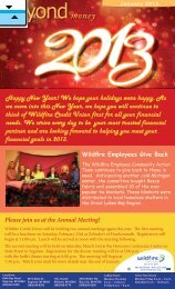 Annual Meeting - Wildfire Credit Union