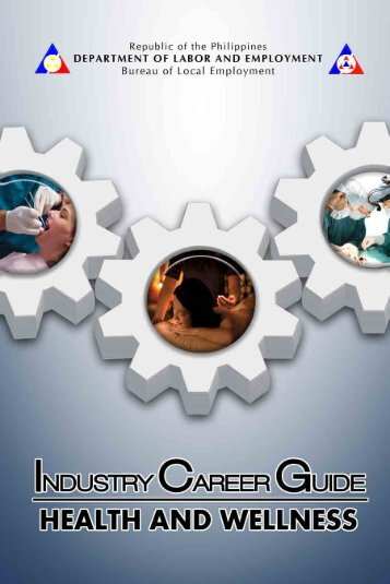 Industry Career Guide - Health and Wellness - Public Employment ...