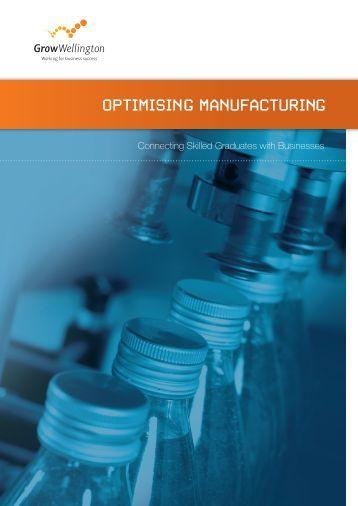 Optimising Manufacturing Brochure Version 2 03 ... - Grow Wellington