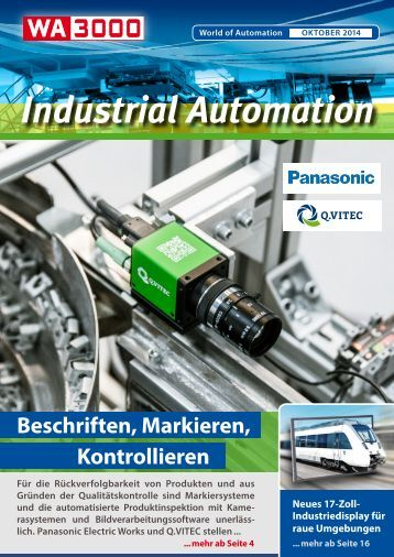 WA3000 Industrial Automation Oktober 2014