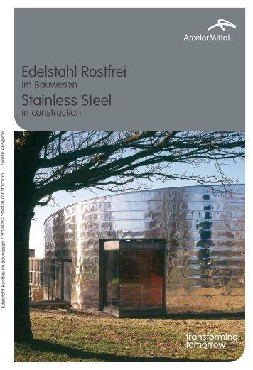Stainless Steel Edelstahl Rostfrei - Aperam