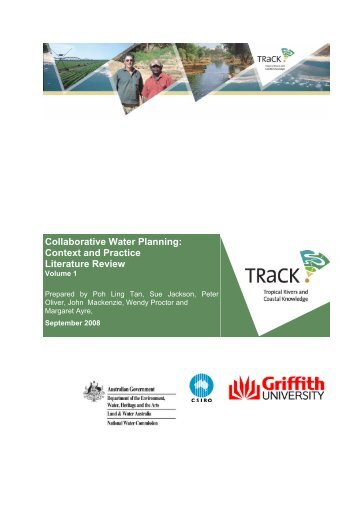 Collaborative Water Planning: Context and Practice Literature Review