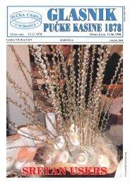Ožujak 2009 - Pučka Kasina 1878
