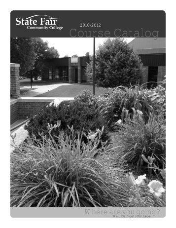 Course Catalog - State Fair Community College