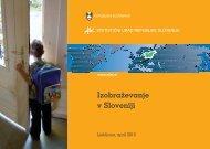 Izobraževanje v Sloveniji - Statistični urad Republike Slovenije