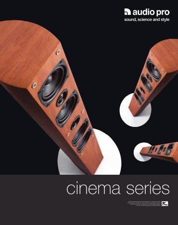 cinema series - Audio Pro