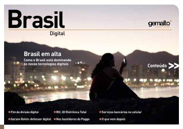 Brasil em alta - Gemalto