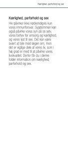 Kæ rlighed, parforhold og sex - Hiv-Danmark - Page 3