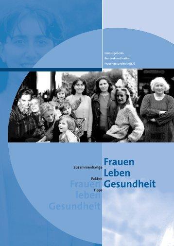 Zur Frau werden - Bundesministerium für Familie, Senioren, Frauen ...