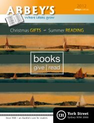 Christmas | Summer Catalogue 2012 - Abbey's Bookshop