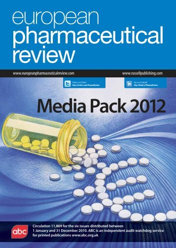 Media Pack 2012 - European Pharmaceutical Review