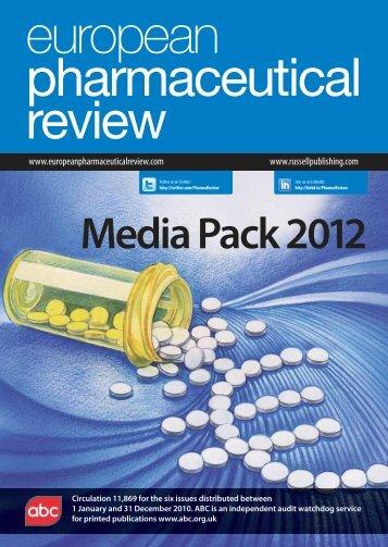 Media Pack 2012 - European Pharmaceutical Review
