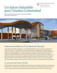 Un futuro Saludable para Nuestra Comunidad - Sutter Medical ...