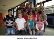 Klasse 5a – Schuljahr 2010/2011 - Heinrich-von-Brentano Schule