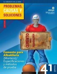 Cemento para Albañilería - Instituto Mexicano del Cemento y del ...