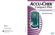 Accu-Chek Compact Plus Gebrauchsanweisung [PDF-Datei]